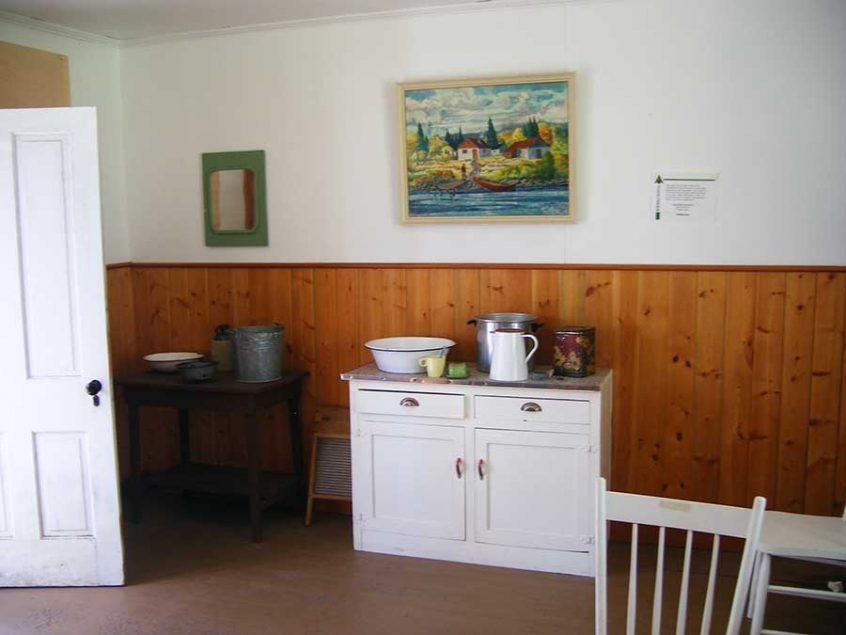 Dawson Cabin Interior